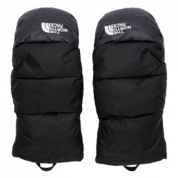 The North Face Black Down Nuptse Mittens 192802M13500604GB