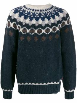 Woolrich patterned knit jumper WOMAG1883UF0363