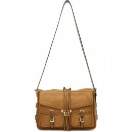 Rag & Bone Brown Field Messenger Bag W292149LD-BRW