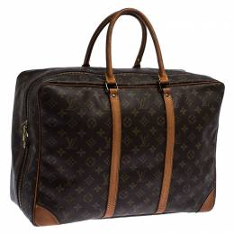 Louis Vuitton	 Monogram Canvas Sirius 45 Soft Sided Suitcase 235369