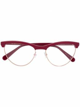 Stella Mccartney Eyewear очки в оправе 'кошачий глаз' SC0219O