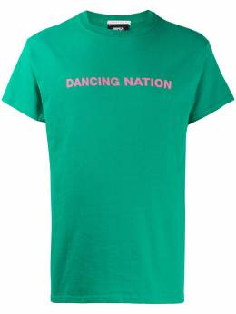 Societe Anonyme Dancing Nation-print T-shirt INGL2000DAN