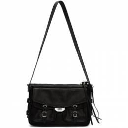 Rag & Bone Black Field Messenger Bag W275149LD-BLK