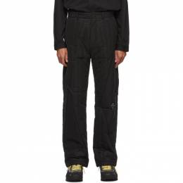 A-Cold-Wall Black Quilted Puffer Trousers ACW-MF19-TNB01