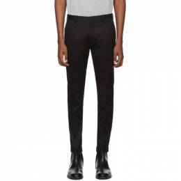 Paul Smith Black Cotton Stretch Chino Trousers M1R-150M-D00031