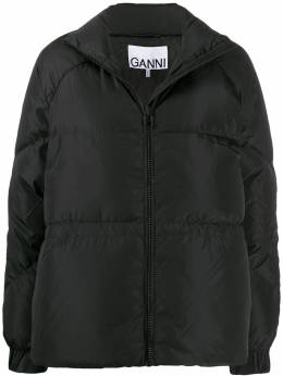 Ganni relaxed fit puffer jacket F4042