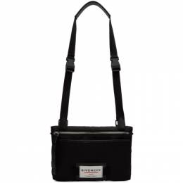 Givenchy Black Downtown Flat Crossbody Bag BK5063K0S9
