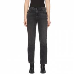 Alexander Wang Black Cult Cropped Jeans 4D994040AA