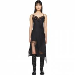 Black Lace Slip Dress Marques Almeida RST20DR0142SHT