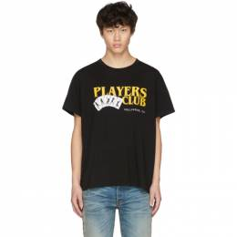 Amiri Black Players Club T-Shirt 201886M21307003GB