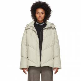 Won Hundred Off-White Down Elisabeth Jacket 0142-14019