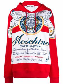 Moschino худи оверсайз King of Clothes A17794127