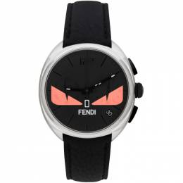 Fendi Black and Pink Momento Fendi Bugs Chronograph Watch 201693M16536101GB