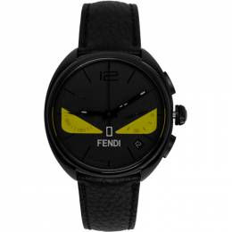 Fendi Black Bag Bugs Momento Chronograph Watch 201693M16536001GB