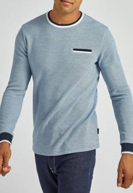 Лонгслив Burton Menswear London 45C04PBLU