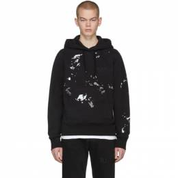 Helmut Lang Black Standard Painter Hoodie J10DM513