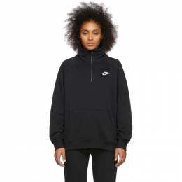 Nike Black NSW Essentials Zip Pullover 201011F09701003GB