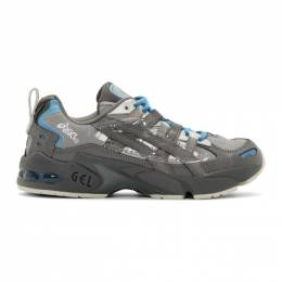 Asics Grey and Blue Chemist Creations Edition Gel-Kayano 5 OG Sneakers 201092M23704401GB
