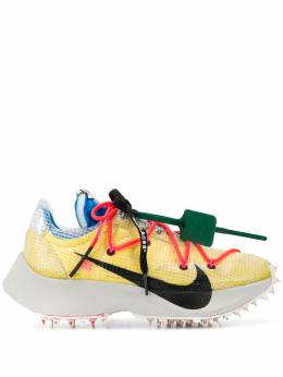 Off-White x Nike textured double lace-up sneakers OWIA211G19FAB0011810