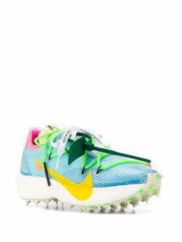 Off-White x Nike textured double lace-up sneakers OWIA211G19FAB0014518