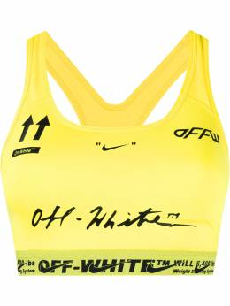 Off-White x Nike logos printed compression top OWVL001G19FAB0011065