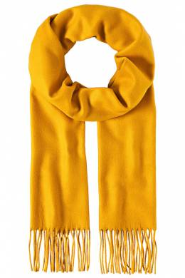 scarf Vincenzo Boretti 10041121_CURRY_YELLOW