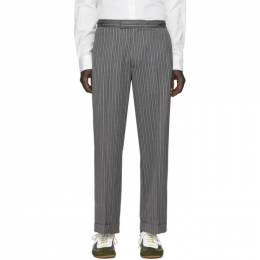 Loewe Grey William De Morgan Cuffed Trousers H2102140DF