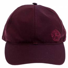 Burberry	 Burgundy Fabric Boysenberry Cap 246573