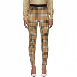 Burberry	 Beige Belvoir Leggings 8012450