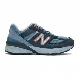 New Balance Blue US Made 990 v5 Sneakers W990OL5