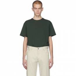 Bottega Veneta Green Stitch T-Shirt 609305 VF1U0