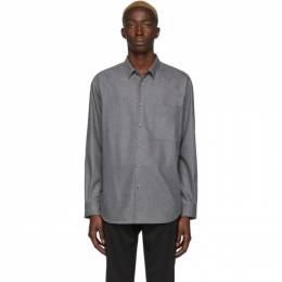 Boss Grey Flannel Shirt 201085M19207404GB