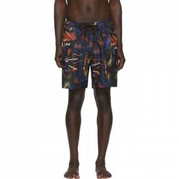 Saturdays Nyc Black Timothy Swim Shorts M12032TI02