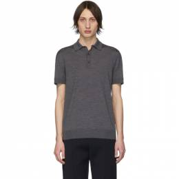 Bottega Veneta	 Grey Wool Polo 201798M21205203GB