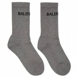 Balenciaga Grey Tennis Socks 540615-372B4