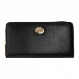 Gucci Black GG Marina Wallet 598543 1DB0X