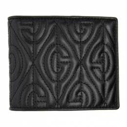 Gucci Black Quilted GG Wallet 597625 DTDUN