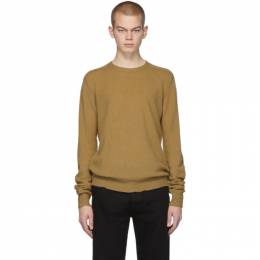 Bottega Veneta Tan Cashmere Logo Sweater 603610 VKJX0