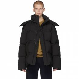 Bottega Veneta Black Down Matt Jacket 602298 VKNS0