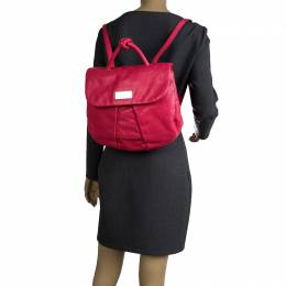 Marc by Marc Jacobs Pink Leather Marchive Backpack 110811