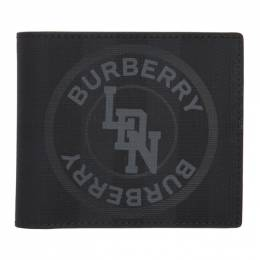 Burberry	 Grey London Check Wallet 8022551