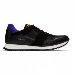 Paul Smith	 Black Pioneer Sneakers M1S-PIO05-ANAP