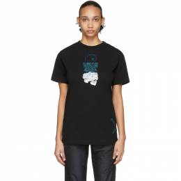 Off-White Black Dripping Arrows T-Shirt OMAA027R201850051001