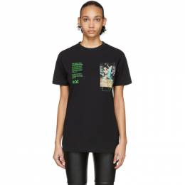 Off-White Black Pascal Painting Over T-Shirt OMAA027R201850141088