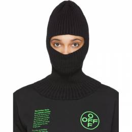 Off-White Black Cotton Balaclava OMLC006R200200011000