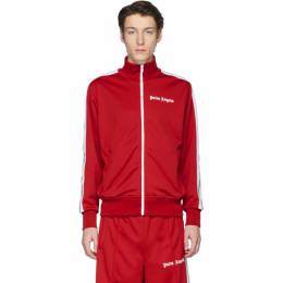Palm Angels Red Classic Track Jacket PMBD001R203840012001