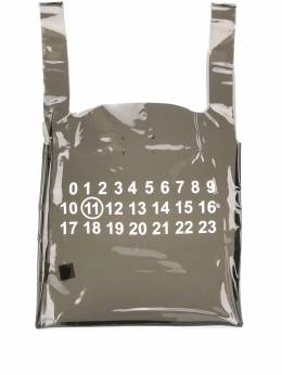 Maison Margiela printed clear tote bag S35WC0081PS386