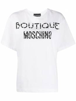 Boutique Moschino футболка с принтом A12071140