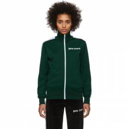 Palm Angels Green Classic Track Jacket PMBD001R203840014201