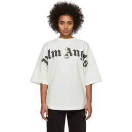 Palm Angels Off-White Logo T-Shirt PMAA002R204130010210